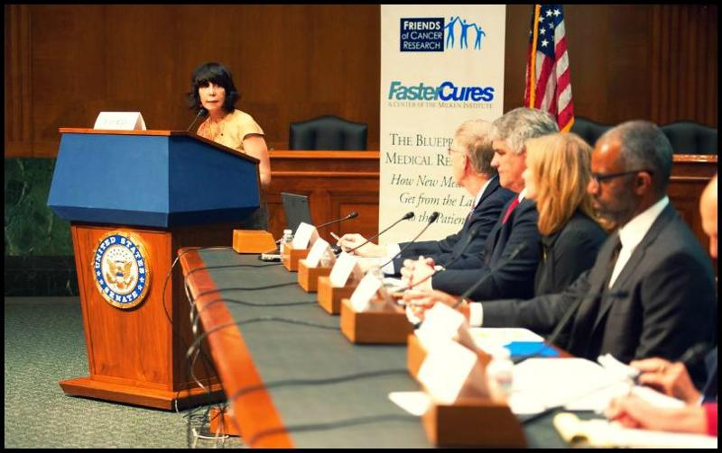 Cutting edge science collaboration and sustained funding needed cancer researchs chair and founder ellen sigal in opening last wednesdays capitol hill briefing the blueprint of medical research malvernweather Images